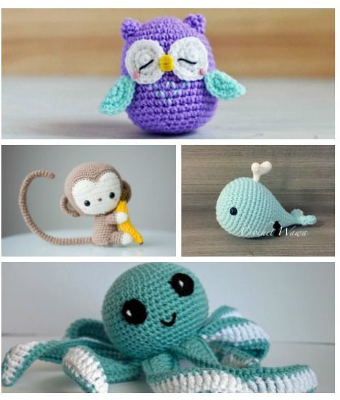 Cute Crochet Animals – The World of Art